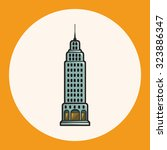 building theme elements vector... | Shutterstock .eps vector #323886347