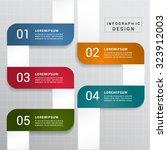 modern infographic design... | Shutterstock .eps vector #323912003