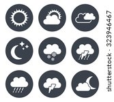 vector set of grey circular... | Shutterstock .eps vector #323946467