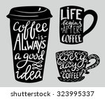 Coffee Is Always A Good Idea....