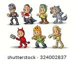 halloween character | Shutterstock .eps vector #324002837