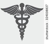 caduceus medical symbol | Shutterstock .eps vector #324038837