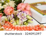 quran and flowers | Shutterstock . vector #324091397
