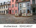 juniela   kramu streets  old... | Shutterstock . vector #324114017