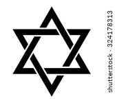 Jewish Star Of David Six...