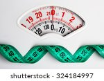 dieting weightloss slim down... | Shutterstock . vector #324184997