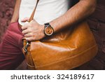 young guy with a beard and... | Shutterstock . vector #324189617