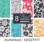 vector black white color... | Shutterstock .eps vector #324227477