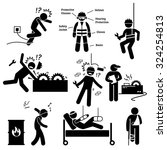 occupational safety and health... | Shutterstock . vector #324254813