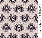 seamless pattern  graphic... | Shutterstock .eps vector #324316493