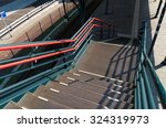Metal Stairs Leading Down To A...