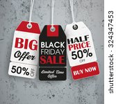 black friday price stickers the