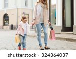 sale  consumerism and people... | Shutterstock . vector #324364037