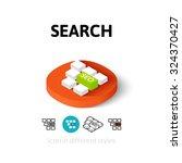 search icon  vector symbol in...