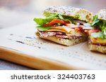 Healthy Sandwich Made Of A...
