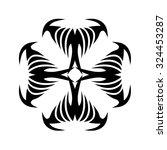 tribal tattoo design  vector... | Shutterstock .eps vector #324453287