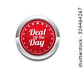 deal of the day red vector icon ... | Shutterstock .eps vector #324464267