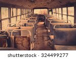 Old Bus Interior   Filtered...