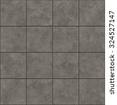 Seamless Texture Of Gray Tiles...
