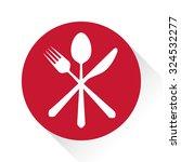 gastronomy   restaurant symbol  ... | Shutterstock .eps vector #324532277