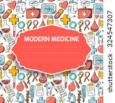 abstract medicine background.... | Shutterstock .eps vector #324547307