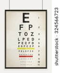 vector illustration of eye... | Shutterstock .eps vector #324566723