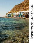 picture of a small seachore... | Shutterstock . vector #324573233