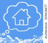 Cloud Shaped As Dream House