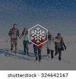 Snow Winter Snowflake Blizzard...