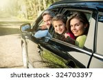 backlit shoot with flare  nice... | Shutterstock . vector #324703397