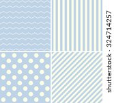 set of cute patterns. | Shutterstock .eps vector #324714257