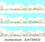 urban landscape   Shutterstock .eps vector #324739433