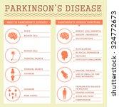 parkinsons disease symptoms ... | Shutterstock .eps vector #324772673