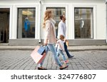 sale  consumerism and people... | Shutterstock . vector #324776807