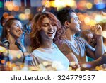 party  holidays  nightlife and... | Shutterstock . vector #324779537