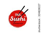 sushi logo. vector | Shutterstock .eps vector #324828227