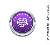 globe sign purple vector icon... | Shutterstock .eps vector #324865103