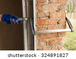 garage doors installation.... | Shutterstock . vector #324891827