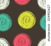 Seamless Color Pattern With...