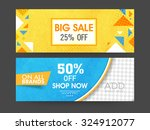 big sale with special discount... | Shutterstock .eps vector #324912077