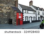 conwy wales   april 14  2014 ... | Shutterstock . vector #324928403