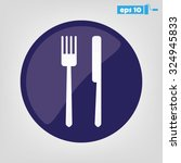 fork  knife   Shutterstock .eps vector #324945833