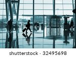 people reflex in the airport   Shutterstock . vector #32495698