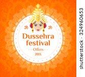 vector illustration dussehra...   Shutterstock .eps vector #324960653