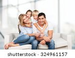 family shot. | Shutterstock . vector #324961157
