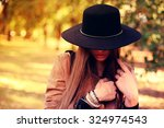 street fashion concept  ... | Shutterstock . vector #324974543