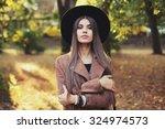 street fashion concept  ... | Shutterstock . vector #324974573
