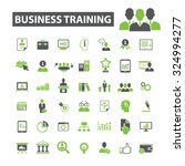 business training icons | Shutterstock .eps vector #324994277