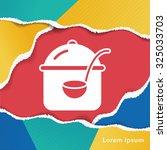 pot icon | Shutterstock .eps vector #325033703