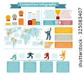 world competition winners... | Shutterstock . vector #325083407